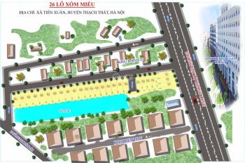 Đất nền dự án Avenue 26 lô mở bán đợt 1. Diện tích từ 110 -148m2. Giá 12-18tr/m2