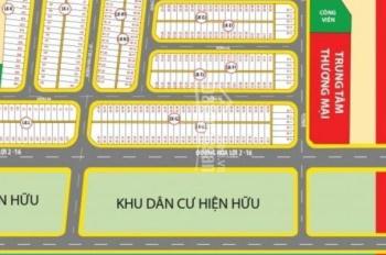 Đất nền giá rẻ TT 550tr MT ĐT 741 đối diện chợ Nhật Huy ngay trung tâm TP Mới sổ riêng từng nền