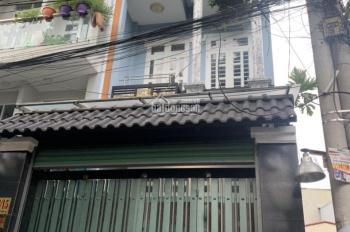 Bán nhà ngay chợ Hiệp Thành, Q12. 4x17m(64m2), 1 trệt 2 lầu, giá 3.85 tỷ