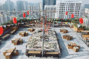 Cho thuê tầng thượng 240m2 tòa nhà lô góc, view thành phố làm Cafe Rooftop