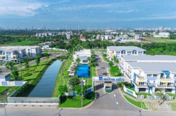 Nhà phố Khang Điền DT 5x23m, View Công Viên, Khu dân cư an ninh, Hiện Hữu, Sổ Hồng Riêng