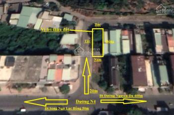 Bán đất KDC Bửu Long 2 mặt tiền (5,6x20m) 110m2, giá 3,6 tỷ