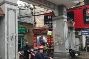 Đất Cửu Việt 2, Trâu Quỳ 35m2, mặt tiền 4m, đường thông 2.7m cách chợ 15m, giá chỉ 1 tỷ 500 triệu