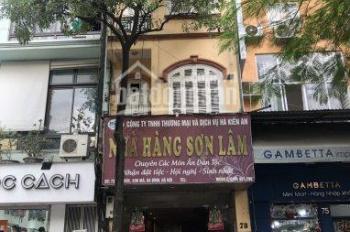 Chính chủ cho thuê nhà mặt phố 73 Núi Trúc, Ba Đình (cho thuê cả nhà). LH: 0788271797
