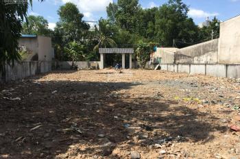Cho thuê đất lớn lâu dài, mặt tiền đường lớn Quận 12