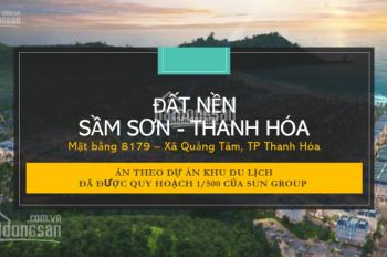 Chính chủ muốn sang tay 2 lô góc mặt đường Đại lộ Nam Sông Mã giá rẻ để đầu tư, LH: 0915.86.1100