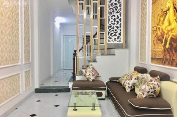 Bán nhà xây mới 5 tầng, 5 phòng ngủ phố 521 Trương Định, ô tô gần nhà, 38m2, giá 3,2 tỷ ô tô 10m