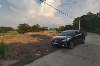 Bán đất Hòa Sơn Lương Sơn 3700m2 bám mặt đường 80m đường rộng 5m đất có ao view cánh đồng giá rẻ