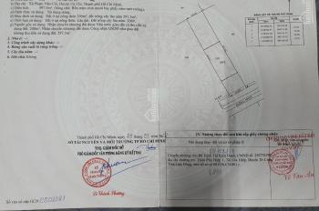 Mặt tiền nhựa 489 cách đường Phạm Văn Cội 150m, diện tích 10x50=497m2 có 300m thổ cư