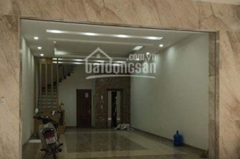 Cho thuê nhà mặt phố tại Doãn Kế Thiện, 100m2 x 6 tầng, full thang máy cửa cuốn giá rẻ. 0966860461