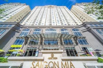 Cho thuê căn 2PN view đường 9A tầng cao CH Sài Gòn Mia có nội thất giá rẻ 13.5tr/th LH 0902679027
