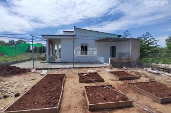 Biệt thự vườn đất rộng 1.000m2, Quận 9, giá rẻ, đã được xây dựng hoàn chỉnh hàng rào + nhà