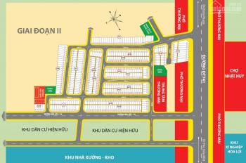 KĐT chợ Nhật Huy có cặp lô góc 2 MT ĐT 741 - đối diện chợ Nhật Huy chỉ 9.xxtỷ/210m2. LH 0909277474