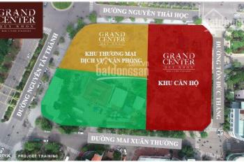 Bán shophouse thiết kế 1 trệt 1 lầu vừa ở vừa kinh doanh tại chung cư cao cấp Grand Center Quy Nhon