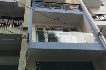 Nhà mới 90% 4 lầu 9PN, mặt tiền 10m Cư xá Lữ Gia - Lý Thường Kiệt, 4x16m vuông vức, giá 12,8 tỷ