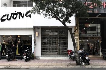 Cho thuê gấp mặt bằng mặt tiền đường Nguyễn Đình Chiểu, Quận 3: 4.5m x 13m, gần ngã 4 Trương Định