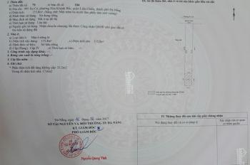 Bán nhà mặt tiền Âu Cơ, Hòa Khánh Bắc, Liên Chiểu, Đà Nẵng