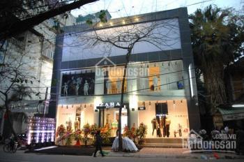 CHo thuê nhà mặt phố Trần Thái tông gần ngã tư Nguyễn Phong Sắc, 45m2x3T, mt 7m.LH:0912962398
