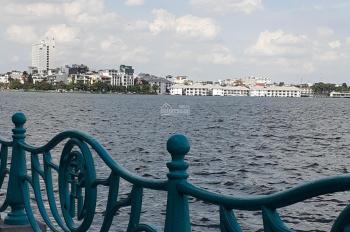 Bán nhà mặt phố Quảng An, mặt Hồ Tây, DT 108m2, MT 8m, giá 65 tỷ. LH 0961668362