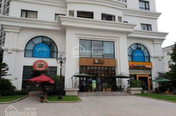 Chính chủ cho thuê shophouse tầng 1-Royal City R4, 158m2, 120tr/tháng, kinh doanh sinh lời cực tốt