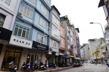 Cho thuê nhà mặt phố Hoàng Cầu DT: 80m2, Mặt tiền: 6,3m, giá thuê: 22tr/th. Em Quang 0968053266