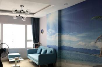 Cho thuê căn 2PN chung cư 1050 Chu Văn An, DT: 62m2 giá: 8.5triệu/tháng, LH: 077.2525.223