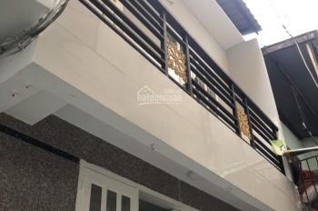 Nhà mới 2 lầu Bình Tiên, 4x5.5m, 2 phòng ngủ giá 6.5 triệu