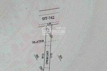 Cần tiền bán gấp bán ngộp đất MT ĐT 742 sát KCN Vsip 2, SHR, công chứng ngay