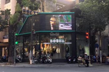 Cho thuê nhà căn góc MP Hòa Mã 80m2 x 2 tầng, mặt tiền 18m, nhà mới đẹp, thông sàn, riêng biệt