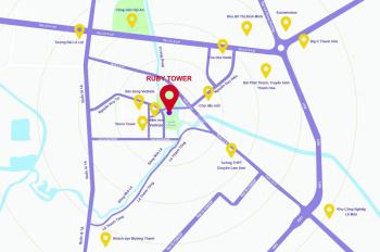 Bán chung cư Ruby Tower Thanh Hóa căn chung cư 2 ngủ 3 ngủ ở trung tâm thành phố Thanh Hóa