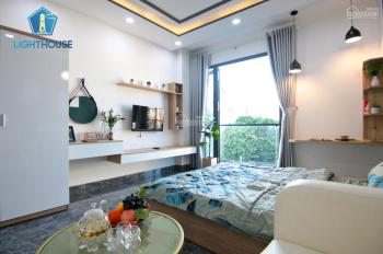Căn hộ mới 100% - 1PN, 1P bếp, đường Thích Quảng Đức, gần Phan Xích Long, đầy đủ nội thất