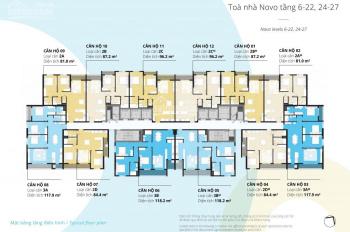 Hướng Đông Nam view Hồ Tây căn hộ 2PN Kosmo Tây Hồ, DT 84.5m2 giá 4.1 tỷ, nhận nhà ở ngay