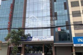 Cho thuê MP Nguyễn Trãi - Thanh Xuân - 130m2, 6T nổi, 1 hầm thông sàn, có thang máy. LH: 0898618333