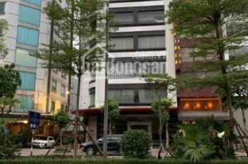 Nhà cho thuê mặt phố kinh doanh phố Cầu Giấy, DT 120m2 x 4 tầng, lô góc 2 mặt tiền. Giá 99tr/th