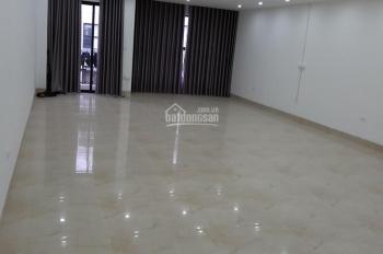 Cho thuê tòa nhà mới đẹp thông sàn, thang máy, ĐH, ngõ ô tô Trung Kính, 80m2, 6Tnổi + 1 hầm 60tr/th