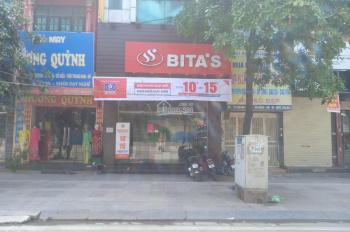 Cho thuê nhà mặt phố 737 Quang Trung, Hà Đông, DT 105m2 sàn, 4 tầng mới, LH 0969488989