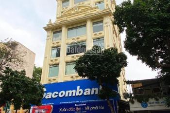 Cho thuê nhà mặt phố Trần Xuân Soạn, diện tích: 165m2x9 tầng 1 hầm, MT: 10m thang máy điều hòa PCCC
