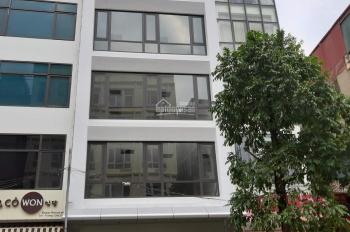 Cho thuê cả nhà mặt phố Trần Quốc Hoàn, diện tích 90m2 x 6,5 tầng thông sàn có thang máy, MT 6m
