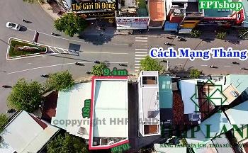 Cho thuê nhà mặt tiền hơn 9m ngay đường chính Cách Mạng Tháng Tám gần cầu mới Hóa An - 0949268682