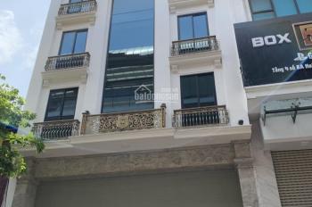 Cho thuê nhà mặt phố Hai Bà Trưng: 130m2 x 6 tầng, mặt tiền 5m, thông sàn, có hầm, thang máy