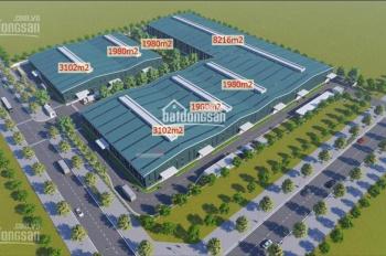 Cho thuê kho xưởng mới xây KCN Phố Nối A, Hưng Yên, DT: 21.000m2, LH 0949.187.168 (kho mới xây)
