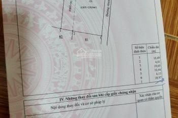 Bán nhà góc 2 mặt tiền 287.7m2, khu phố Phú Mỹ- Quốc Lộ 1A, TP Long Khánh, Đồng Nai, giá 4.7 tỷ