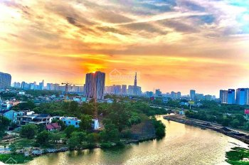 Chính chủ bán Palm Heights, tháp T1, 2PN,DT 80.4m2, căn 04, view sông, view Landmark 81 rẻ nhất TT