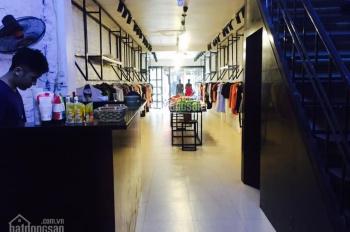 Cho thuê nhà mặt phố Trần Xuân Soạn đối diện chợ Hôm cạnh phố Huế: 80m2 x 5 tầng, mặt tiền 4,3m