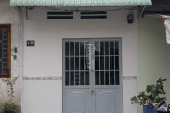 Nhà cấp 4 gác đúc thật 32m mặt tiền hẻm nhựa 8m sổ chung đường Nguyễn Tri Phương DĨ An. Bán 680tr