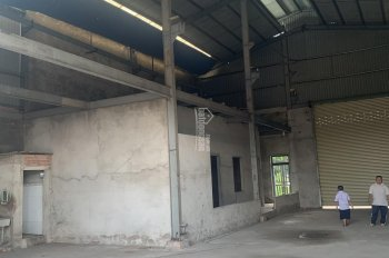 Bán nhà xưởng MT Kinh A ngang 15m tổng DT 1000m2, sổ hồng thổ cư 300m2, xưởng đẹp văn phòng đầy đủ
