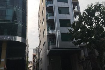 Bán gấp tòa nhà mặt tiền Lý Chính Thắng, quận 3, DT 12x16m, hầm 8 tầng, giá 135 tỷ LH 0938/272/121