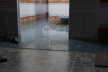 Nhà cần cho thu gấp hẻm Quốc Lộ 1A, phường Đông Hưng Thuận, Q12, DT: 4x15m, đúc lửng, giá 5.5tr/th
