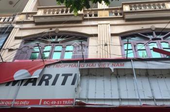 Bán nhà mặt phố Trần Quang Diệu, DT 96m2, mặt 7.6m, giá bán 35.5 tỷ, LH 0901485777