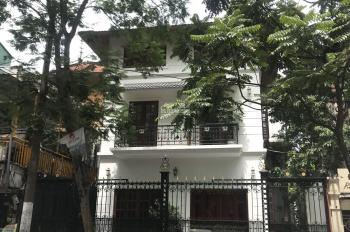 Cho thuê biệt thự mới hoàn thiện cực đẹp MP Ngô Thì Nhậm 300m2 x 3 tầng, mặt tiền 12m